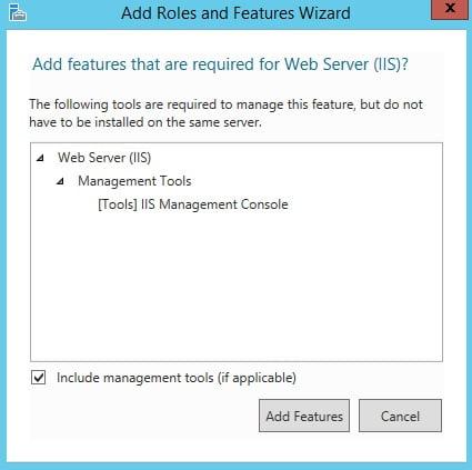 How to Install iis on Windows 2012