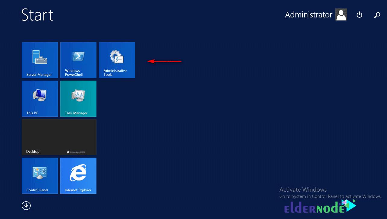 Install iis on Windows 2012