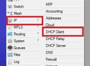 how to IP settings in MikroTik Server