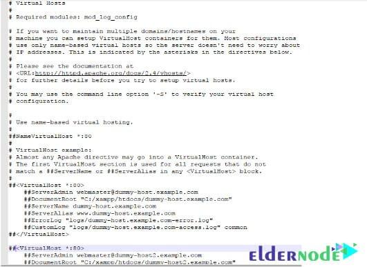 setup-VPS-in-Windows-10-using-XAMPP-3-eldernode