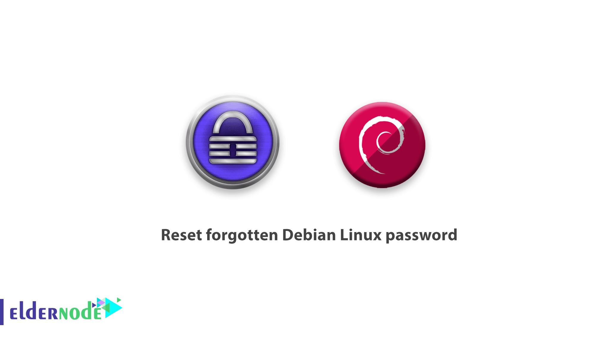 Reset forgotten Debian Linux password