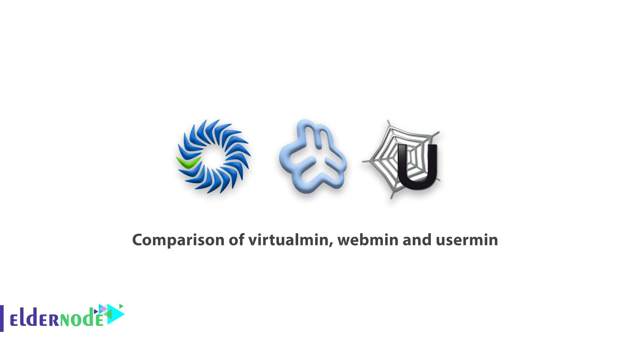 Comparison of virtualmin, webmin and usermin