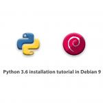 Python 3.6 installation tutorial in Debian 9