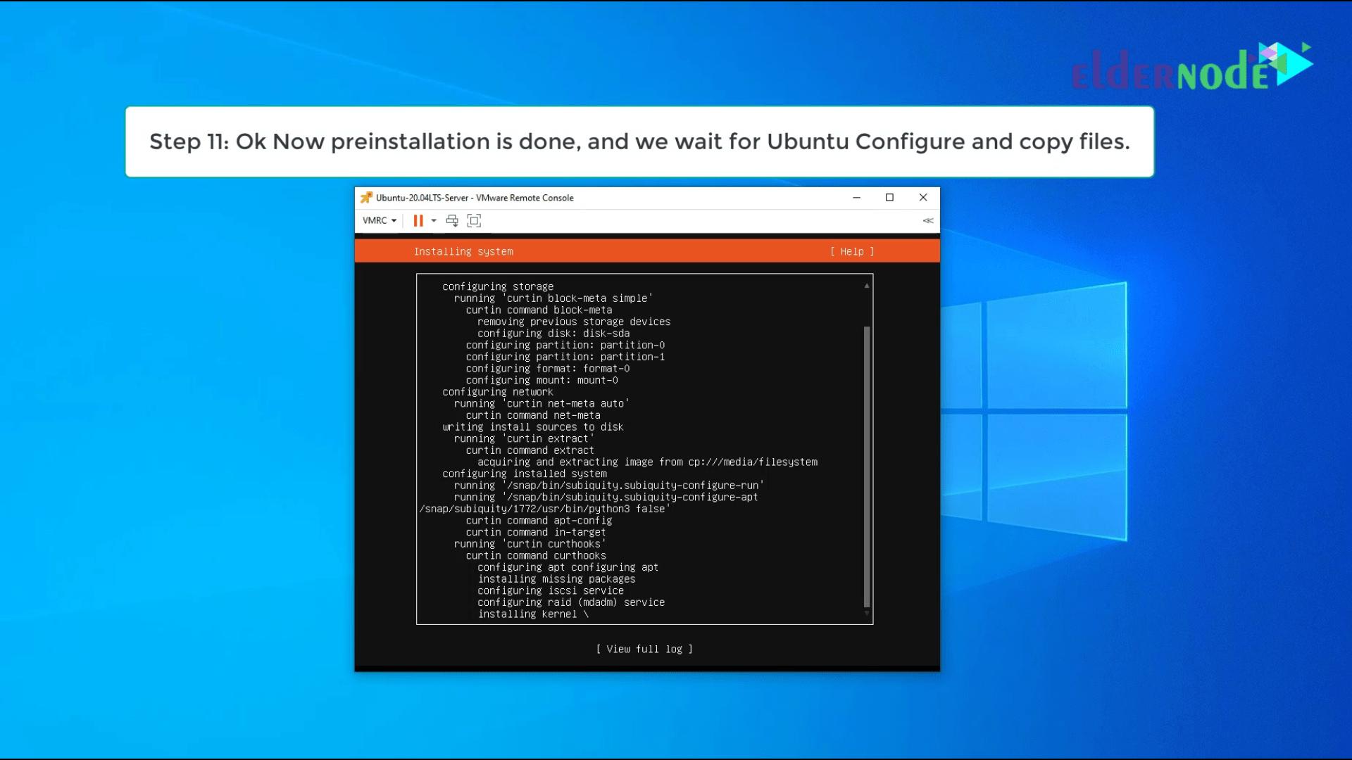 Install Ubuntu 20.04 LTS on vmware-11