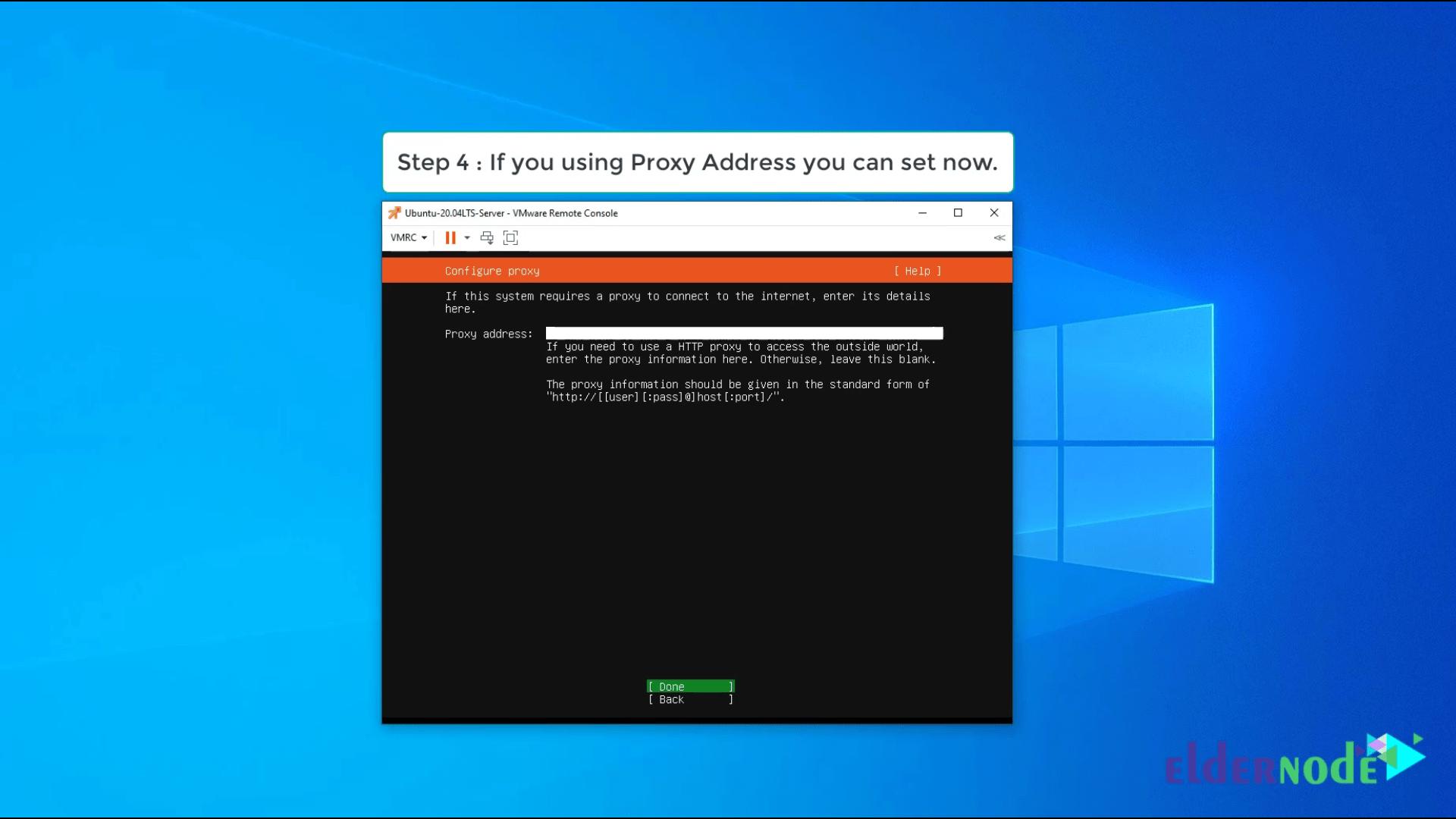 Install Ubuntu 20.04 LTS on vmware-4