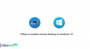 4 Ways to enable remote desktop in windows 10