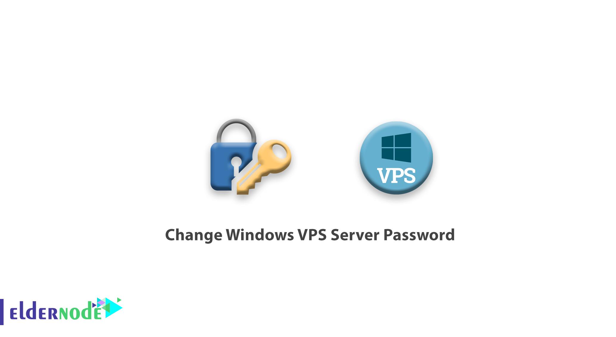 Change Windows VPS Server Password