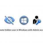 Create hidden user in Windows with Admin access