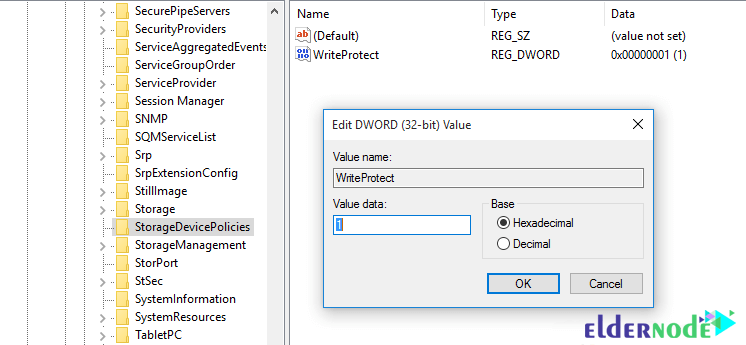 Enabling USB Write Protection Using the Registry