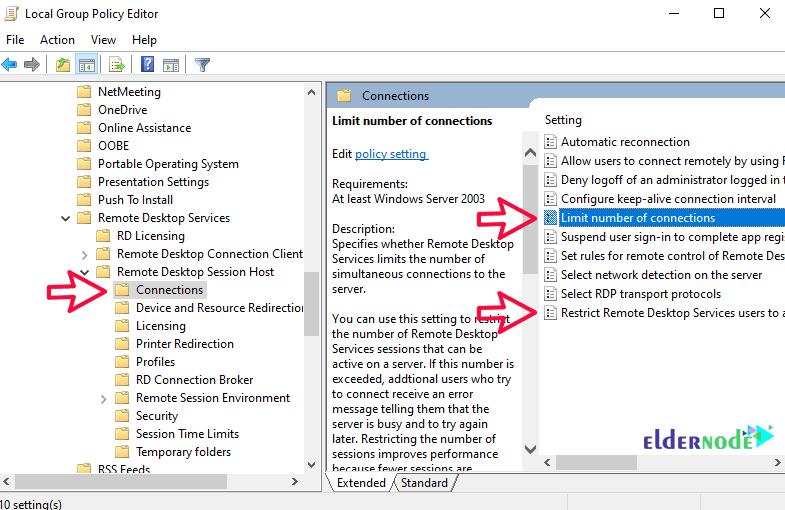 RDP Limit Settings on Windows Server-3