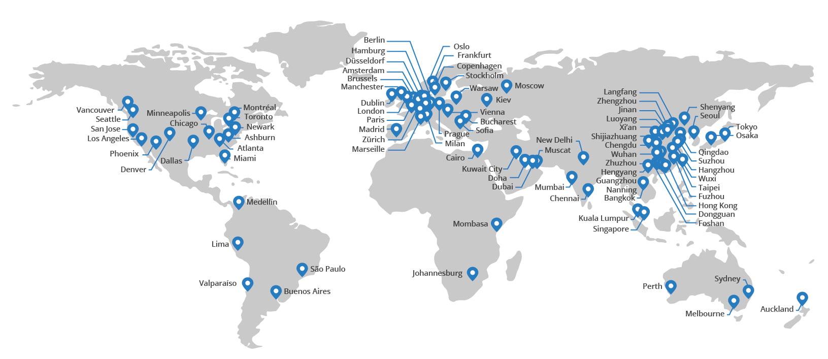 CDN maps