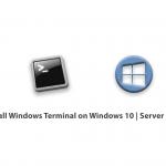 How to Install Windows Terminal on Windows 10-Server 2019