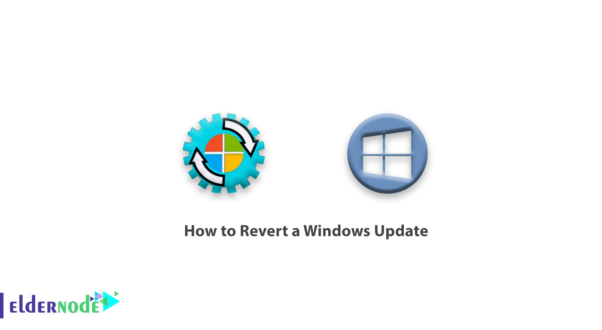 How to Revert a Windows Update