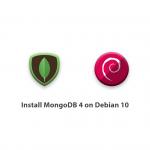 How to install MongoDB 4 on Debian 10