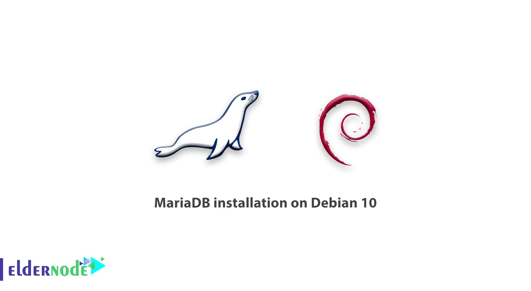 Tutorial MariaDB installation on Debian 10