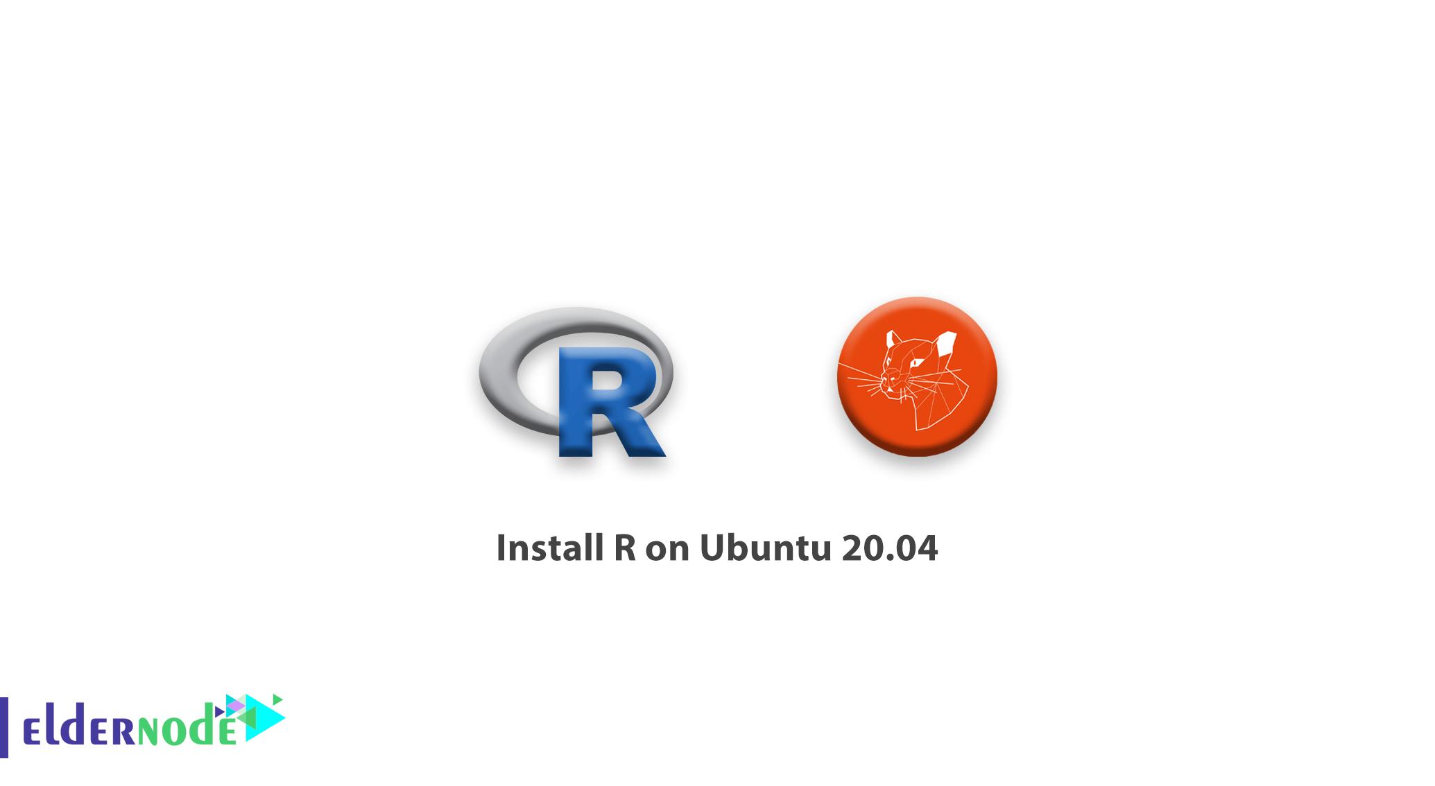 How to install R on Ubuntu 20.04