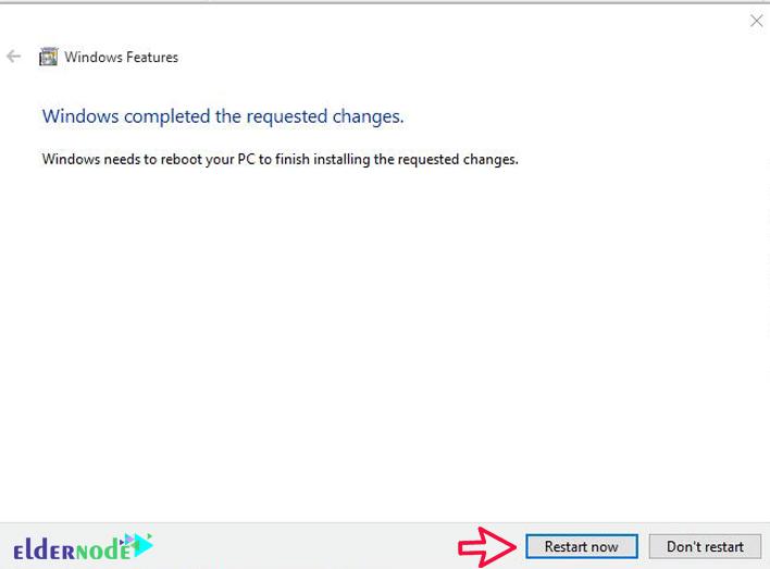 Install-IIS-on-windows-10-5