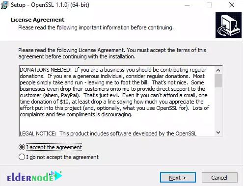 Install OpenSSL on Windows Server 2019-2