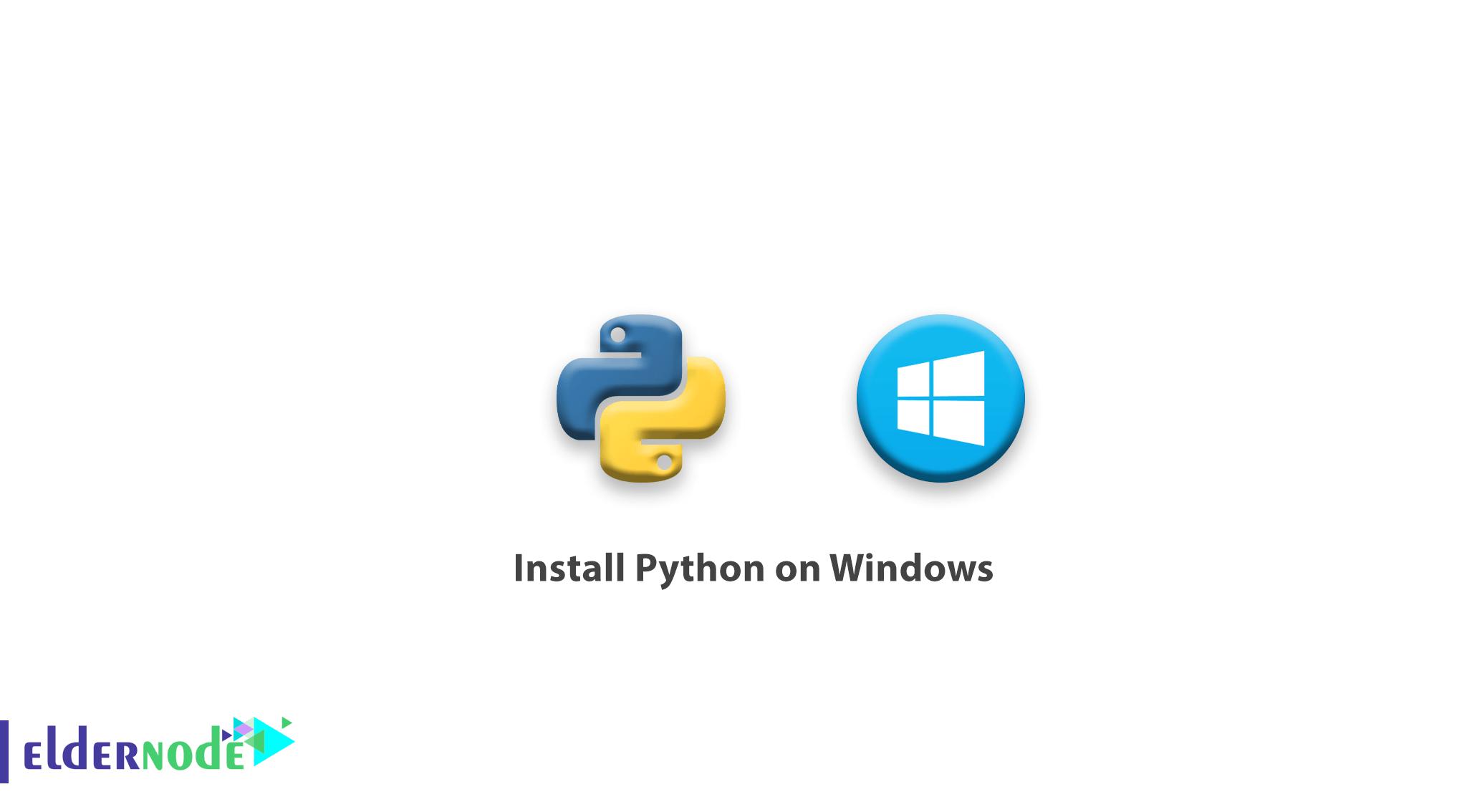 Tutorial Install Python on Windows