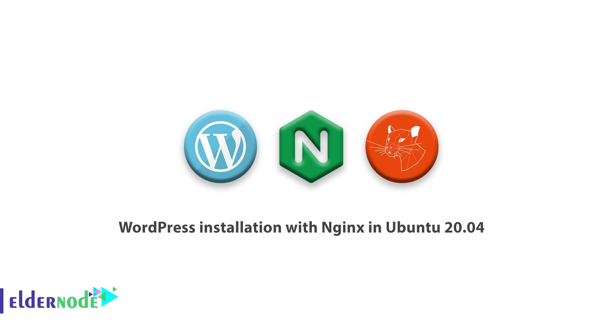 Tutorial WordPress installation with Nginx in Ubuntu 20.04