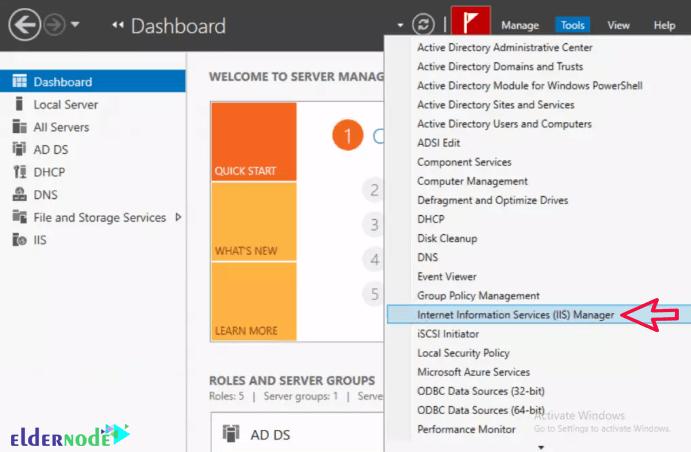 Virtual Directory on Windows IIS Server