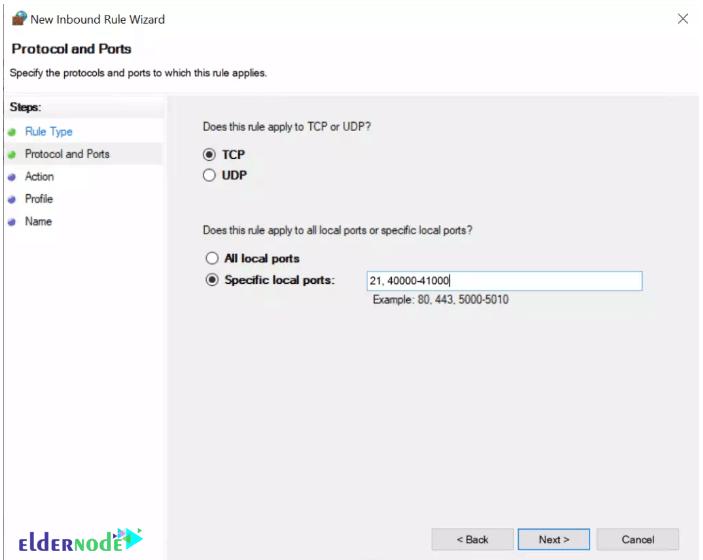configure ftp on windows server 2019-7