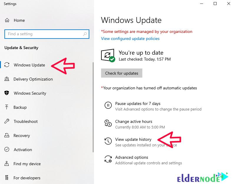 how to revert windows update-1