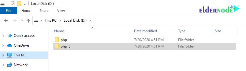 how to upgrade php version in xampp-2-eldernode