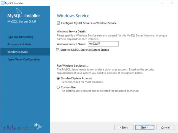 install mysql on windows server-7