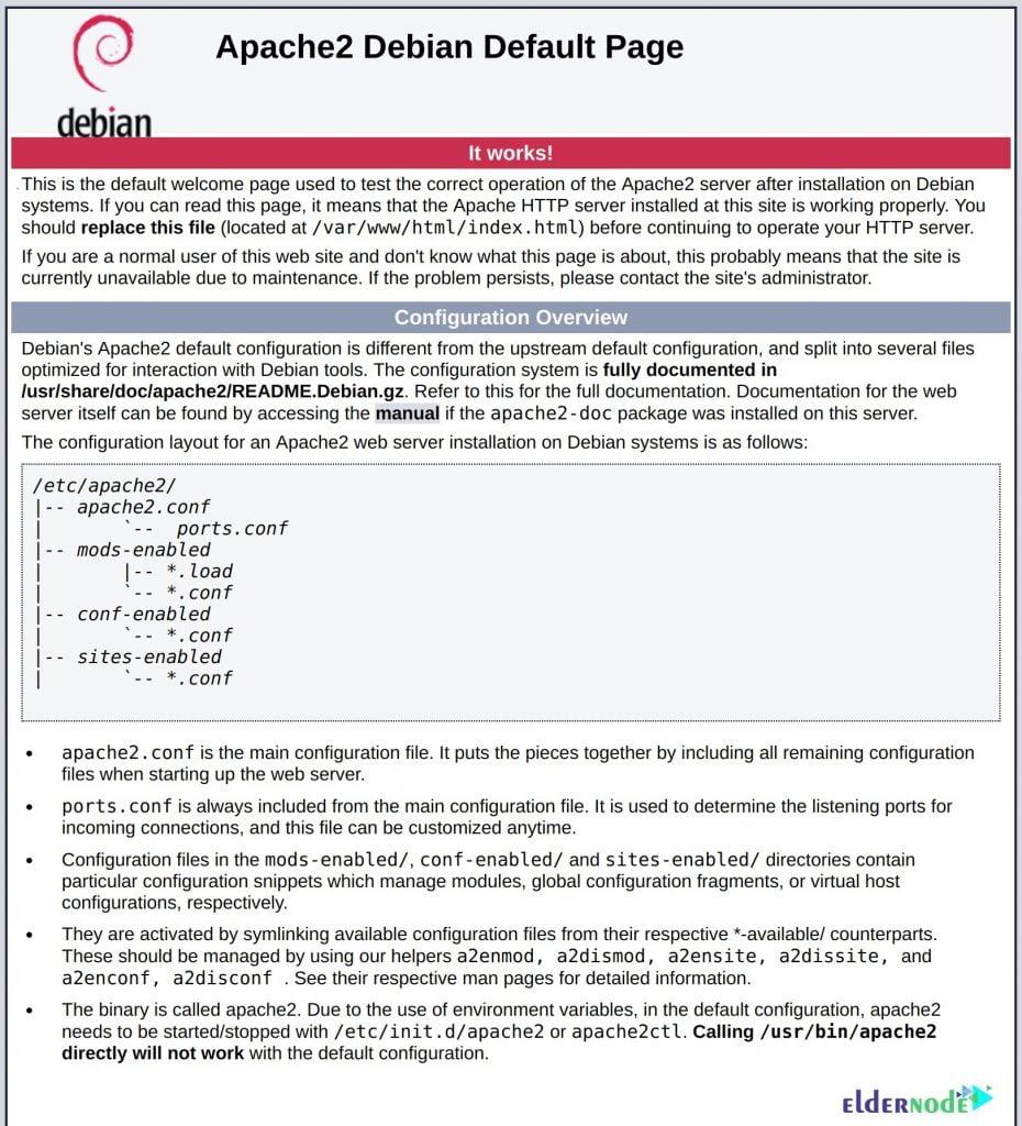install LAMP on Debian 10