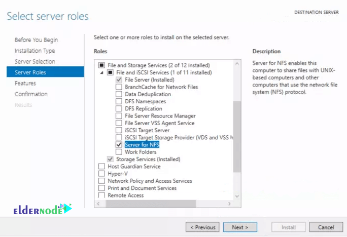 How to Install and Configure NFS Server on Windows Server 2019