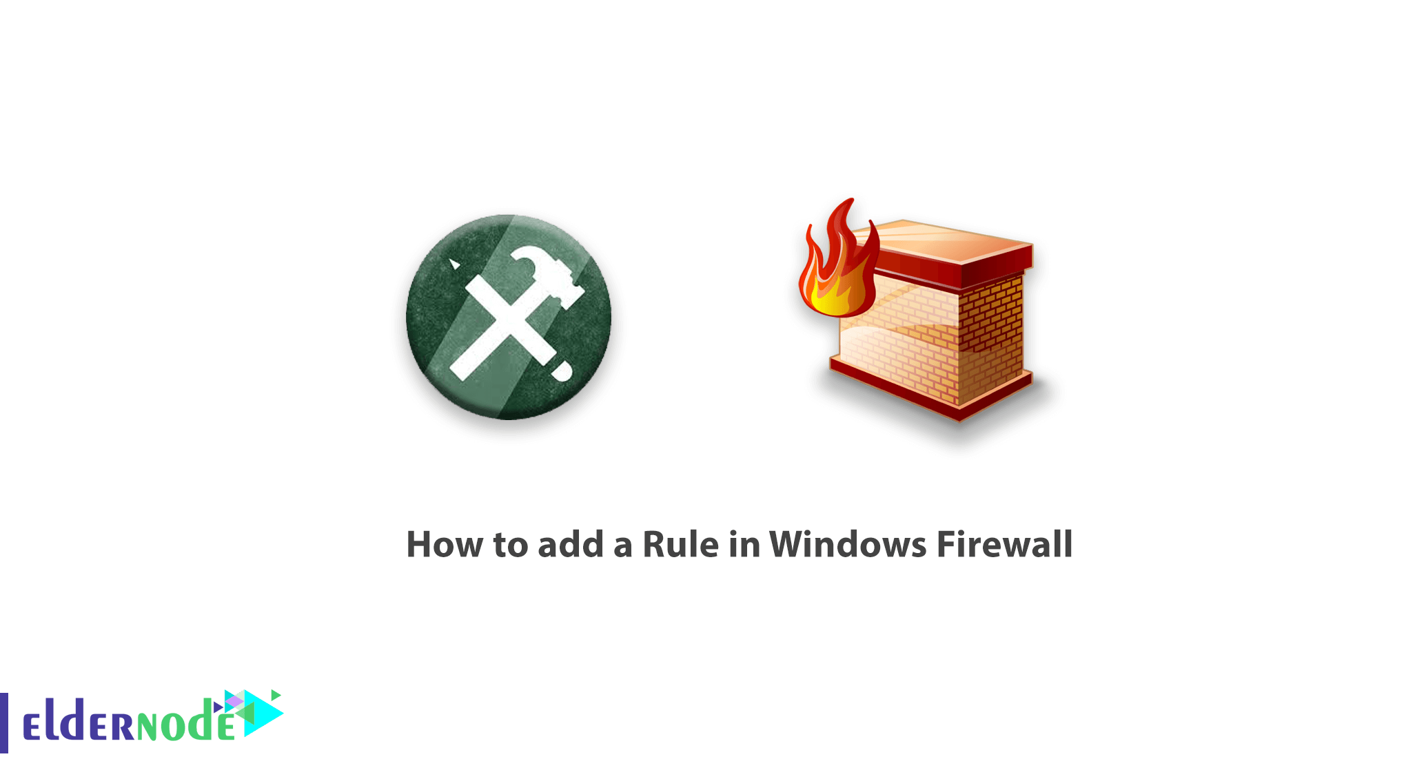 How to add a Rule in Windows Firewall