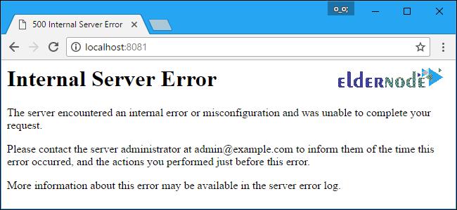 How to fix Internal Server Error 500