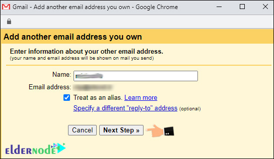 Add Another email account on Google mail