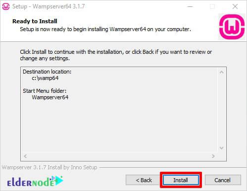 click to install wamp server on windows