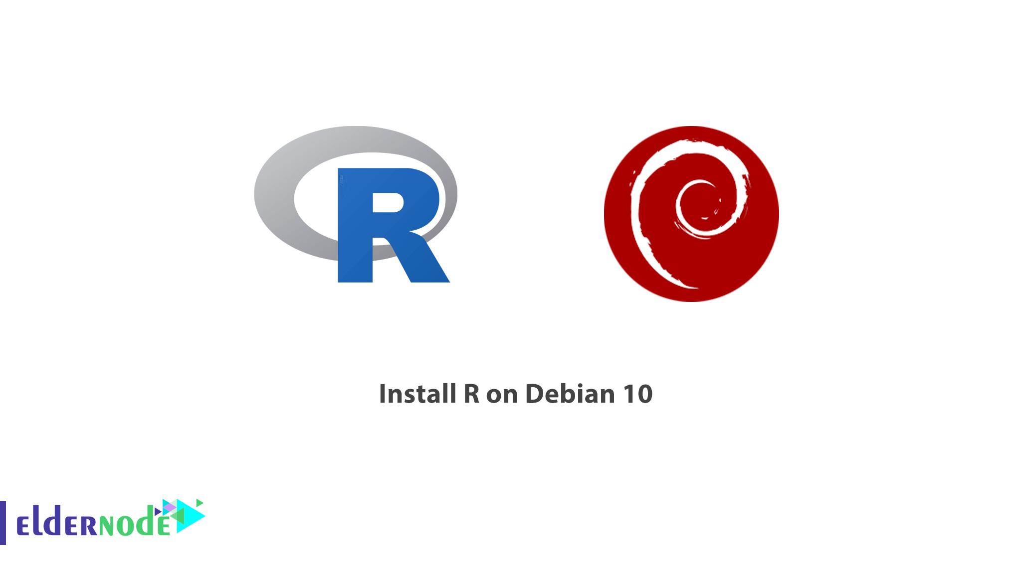 Tutorial install R on Debian 10
