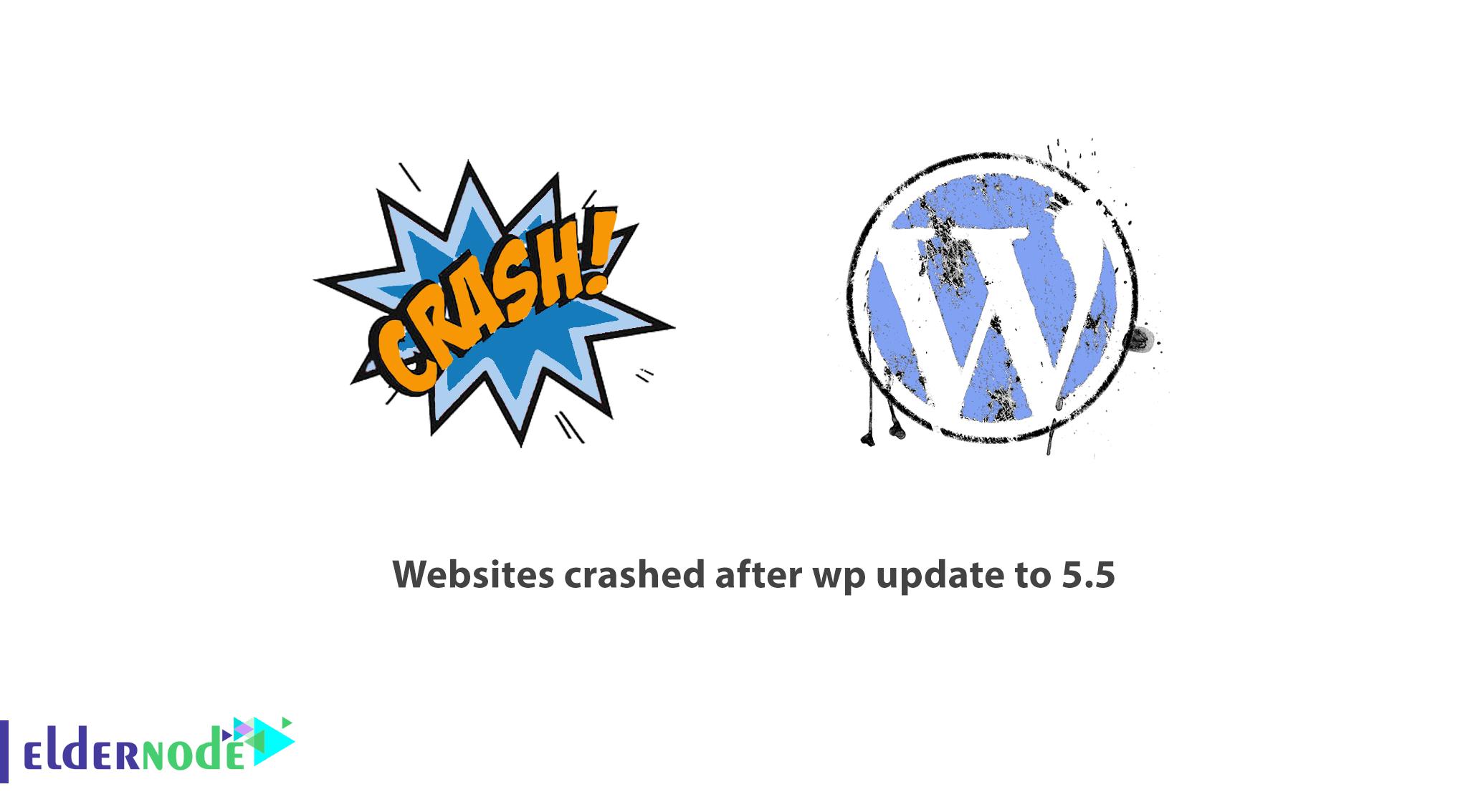 Websites crashed after wp update to 5.5