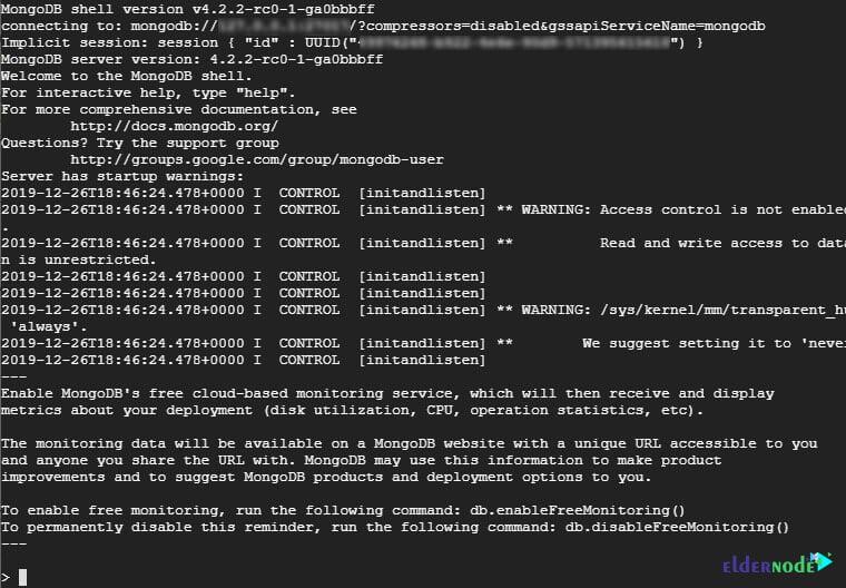 Connect-MongoDB-Shell