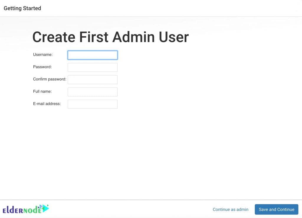 create user page for jenkins on Ubuntu
