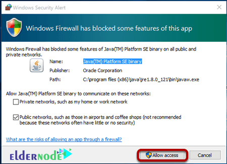 How to allow Minecraft game server access in the firewall