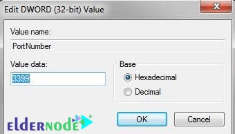 How to change the default RDP port