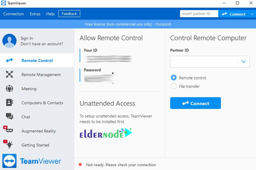 how to run teamviewer in windows 10
