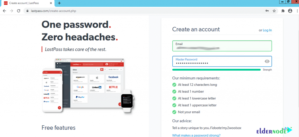 how to register on the lastpass