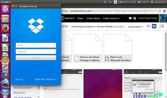 how to use of Dropbox on ubuntu 20.10