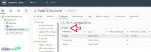 use HTML5-client to change hostname in esxi