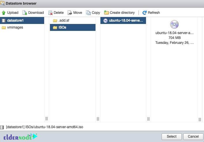 datastore browser in esxi 6.5