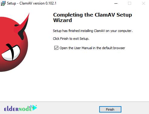 Tutorial setup clamav on rdp server