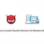 How to Install ClamAV Antivirus On Windows RDP
