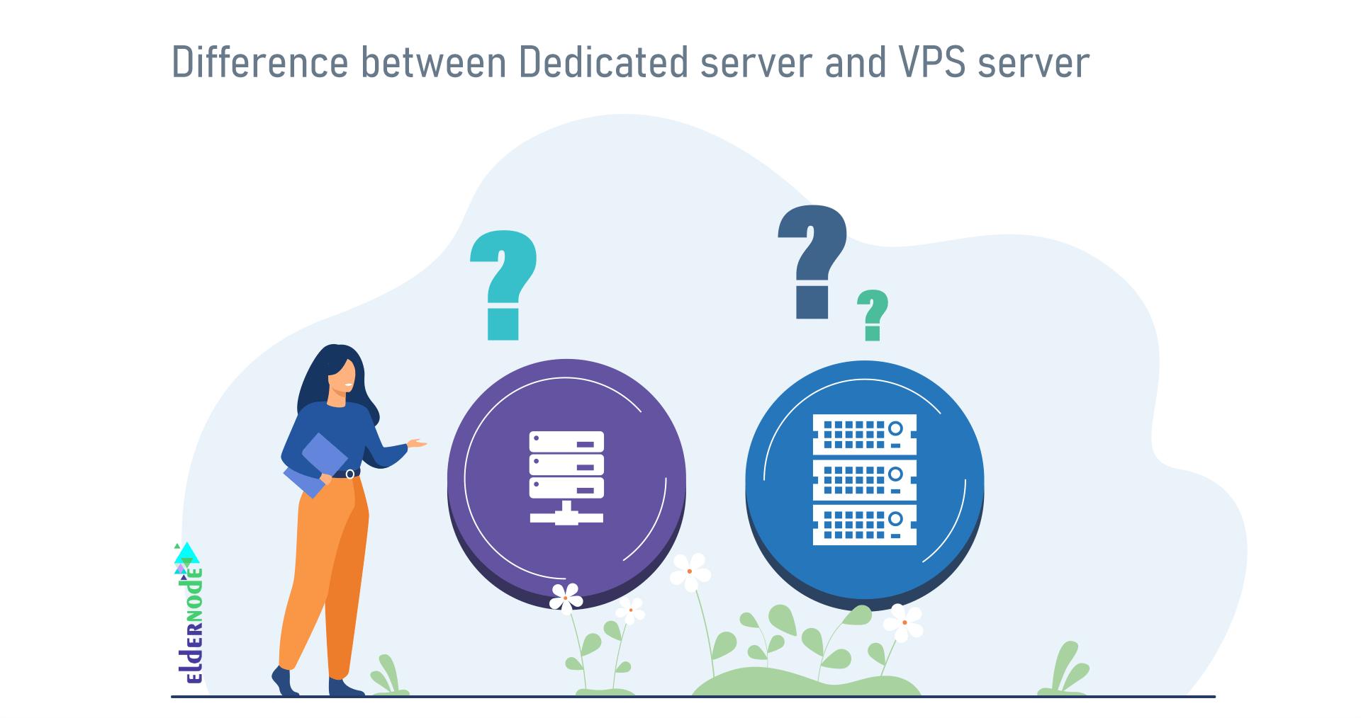 dedicated server vs VPS comparison
