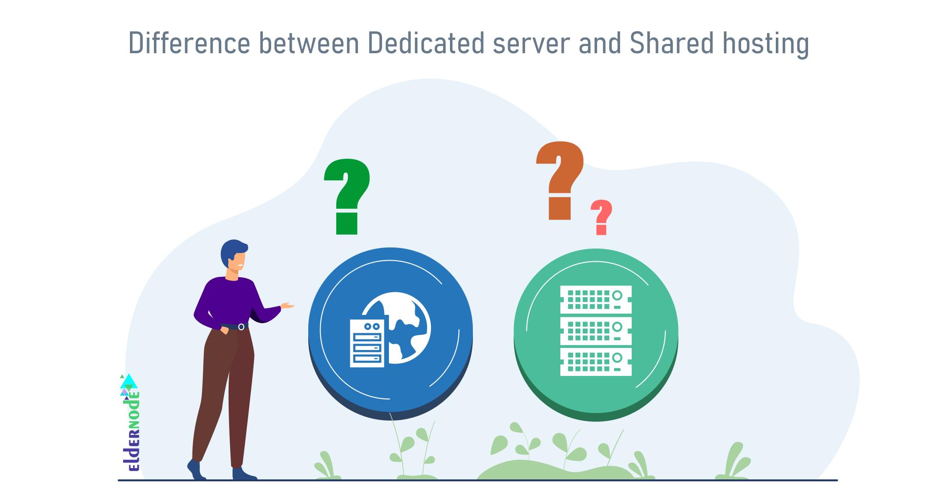 dedicated server vs sharing hosting comparison